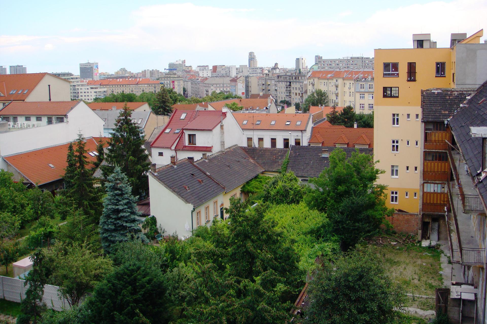 Z mezonetového bytu je prekrásny výhľad na Staré mesto Bratislavu