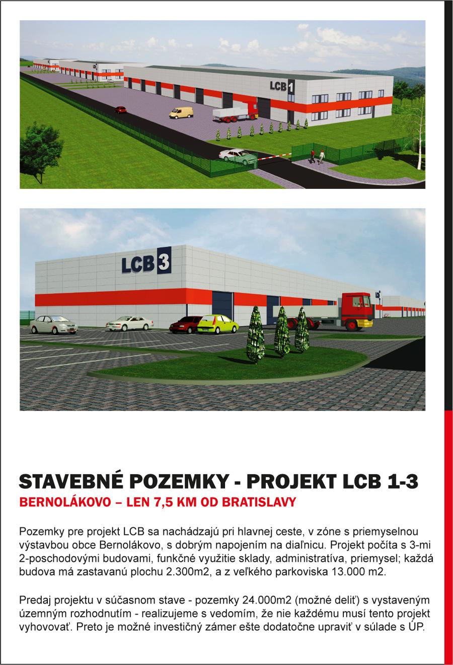 Základná obchodná ponuka predávaných pozemkov - Obr.2