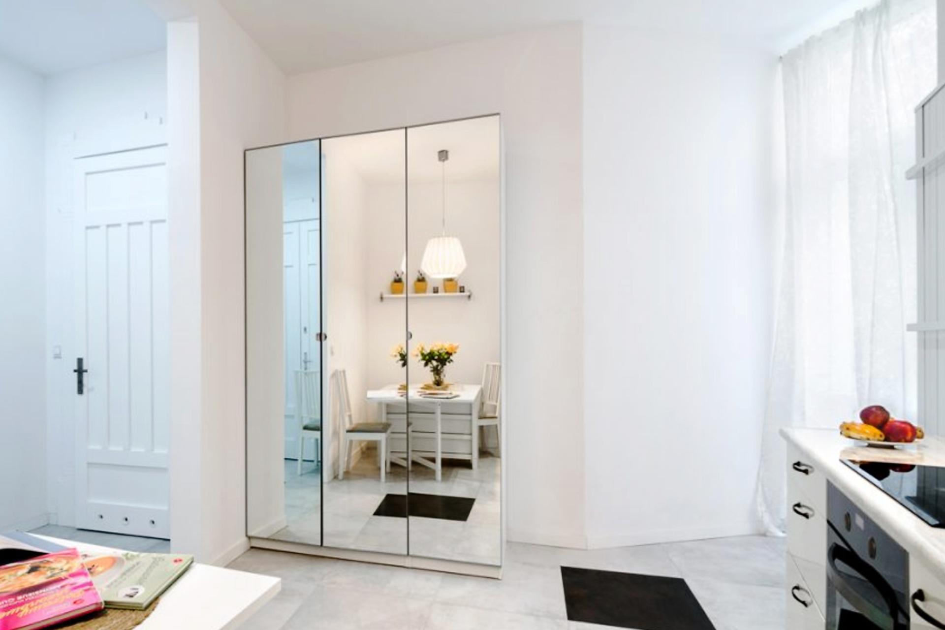 Priestranná architektúra bytu (štýl Open Space)